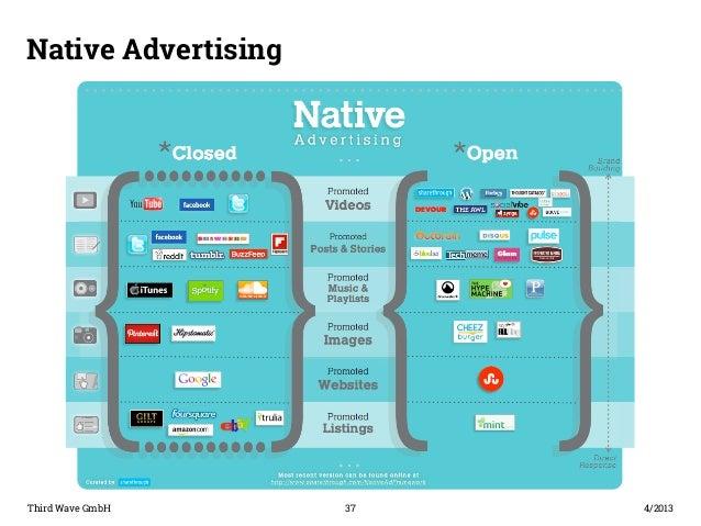 Native Advertising  Third Wave GmbH 37  4/2013