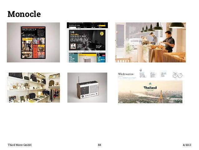 Monocle  Paragraph  Third Wave GmbH 88  4/2013