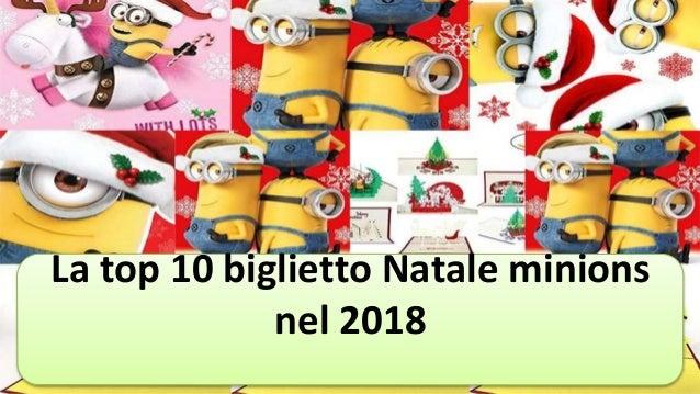 Immagini Minions Natale.La Top 10 Biglietto Natale Minions Nel 2018