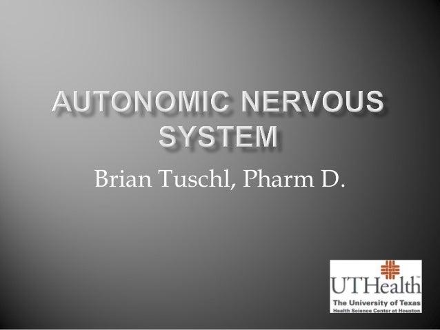 Brian Tuschl, Pharm D.