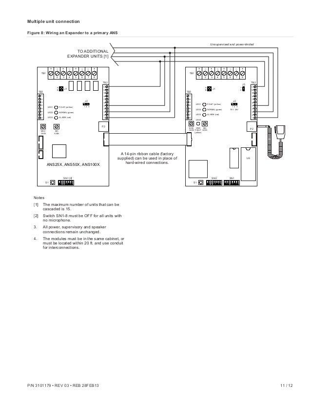 Edwards Signaling Ans25mdr Installation Manual