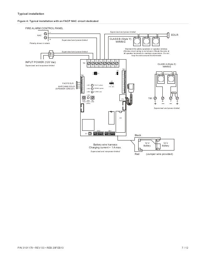edwards addressable fire alarm wiring diagram: edwards signaling ans25mdr  installation manual,design