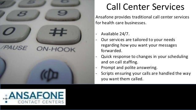 Ansafone Provides Comprehensive Call Center Help For Medical