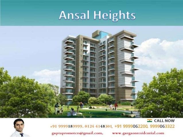 Ansal Heights Gurgaon- Buy Apartments on New Gurgaon Slide 2