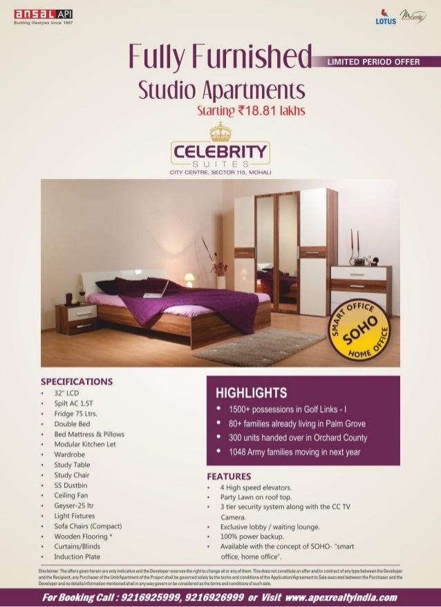 Ansal studio apartment sector 115 Mohali