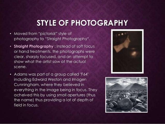 ansel adams photography style