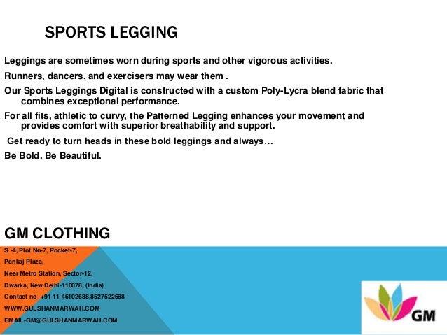 GM Clothing Leggings