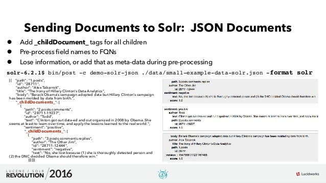Working with Deeply Nested Documents in Apache Solr: Presented by Ans…