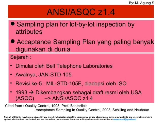 ANSI ASQC Application in Pharma Plant | 638 x 479 jpeg 93kB