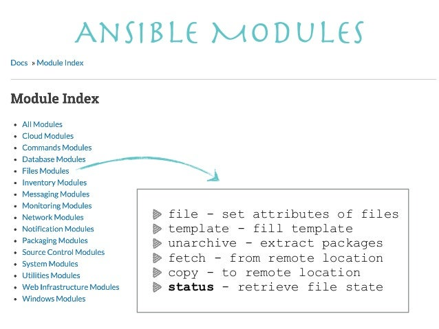 Ansible for Ansible template example