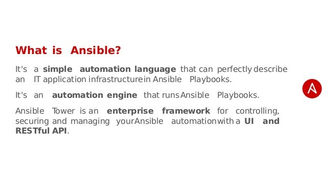 Ansible Tower Tutorial Pdf