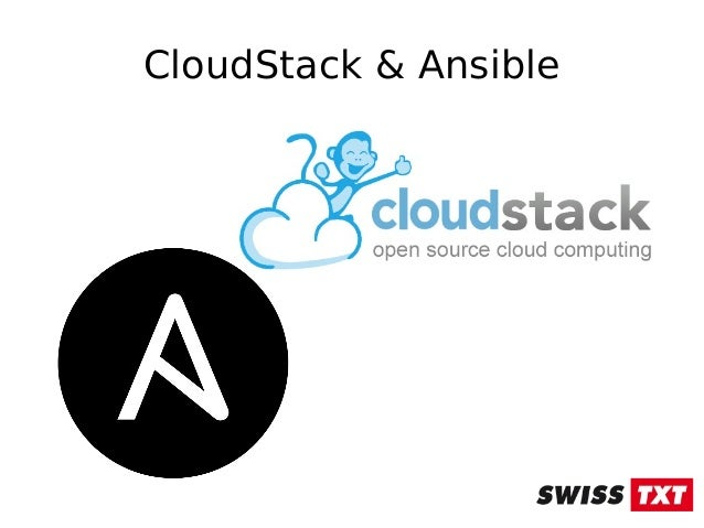 Ansible and CloudStack