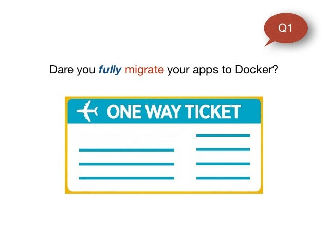 Dare you fully migrate your apps to Docker? Q1