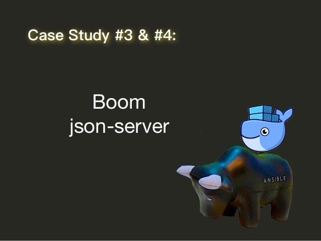 Boom  json-server