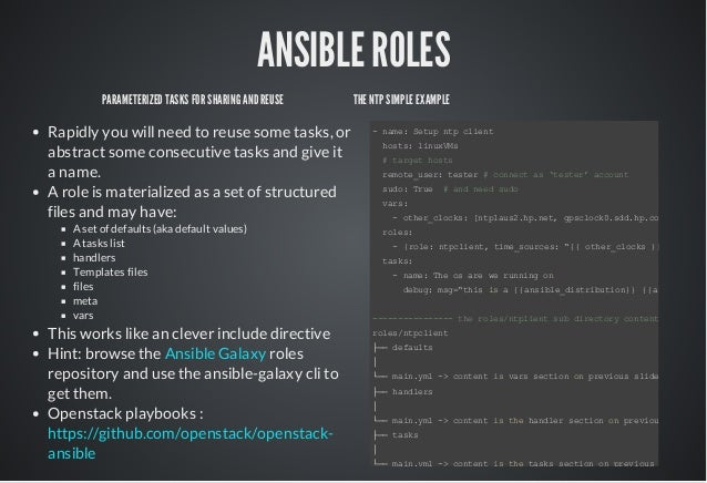 ansible template example - ansible a tool for dev ops