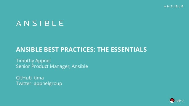 ansible best practices 1 638