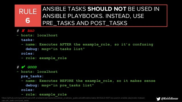 Ansible Best Practices at Scale