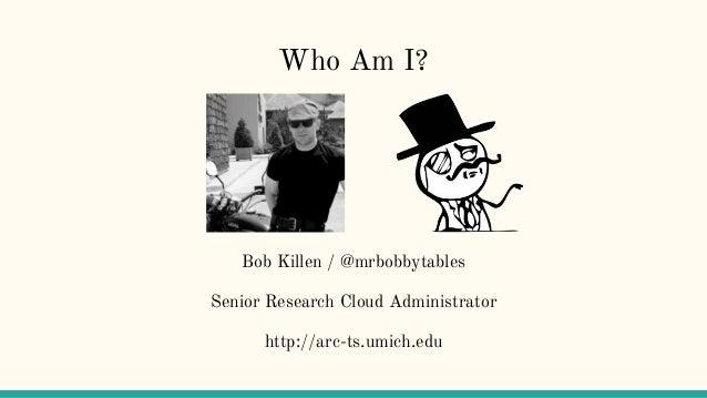 Ansible, integration testing, and you. Slide 2