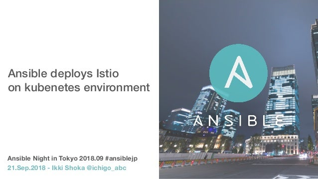 Ansible deploys Istio 
