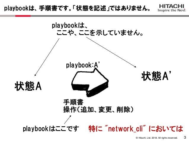 AlaxalA & hitachi's presentation at Ansible Night in Osaka on 28th No…