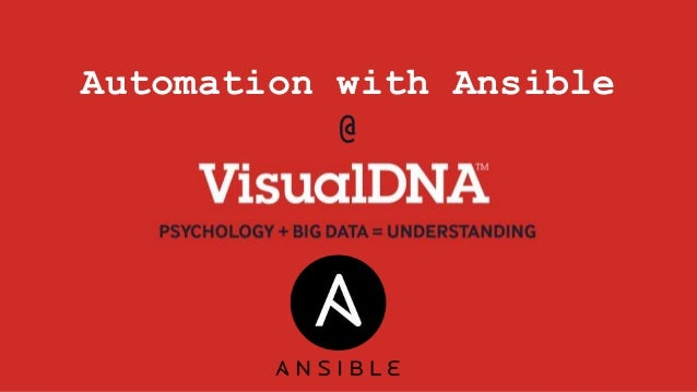 Automation with Ansible @