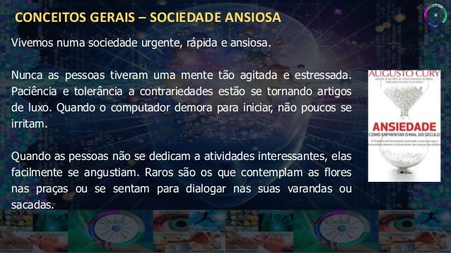 Ansiedade   como enfrentar o ma - augusto cury rev 01 Slide 2