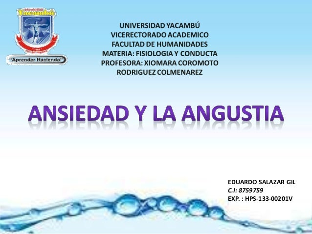 EDUARDO SALAZAR GIL C.I: 8759759 EXP. : HPS-133-00201V