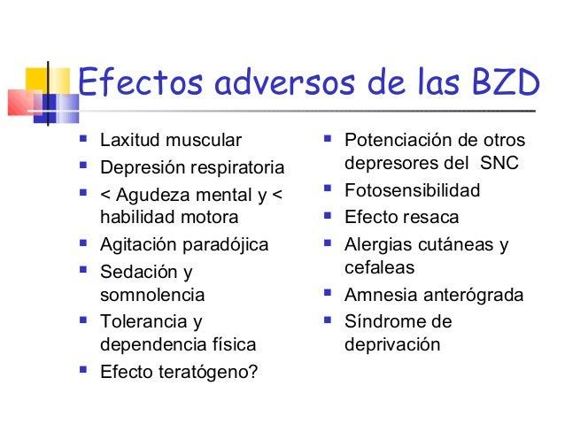 ANSIOLITICOS E HIPNOTICOS