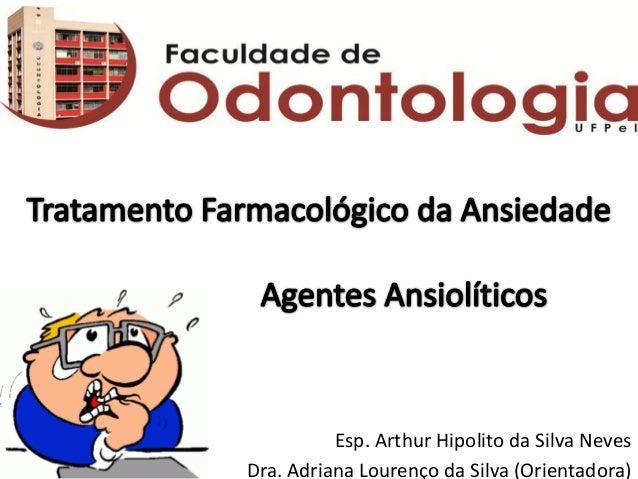 Esp. Arthur Hipolito da Silva Neves Dra. Adriana Lourenço da Silva (Orientadora)