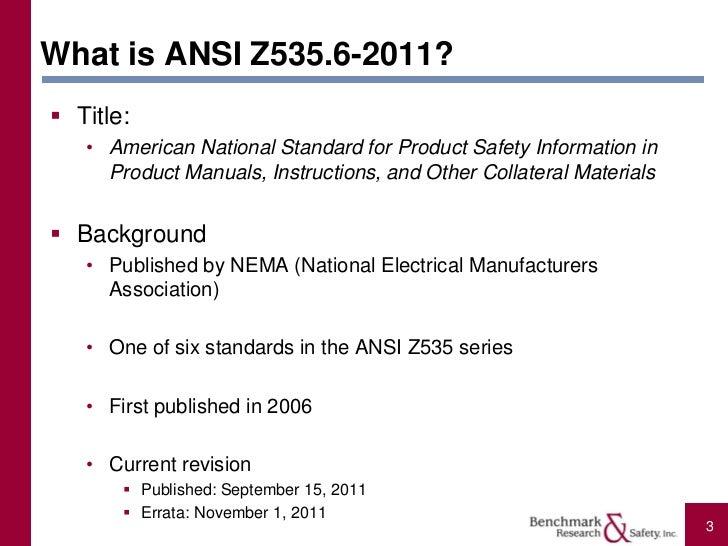 Ansi z535 | creative safety supply.