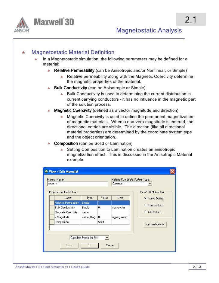 ansoft maxwell v14 user guide