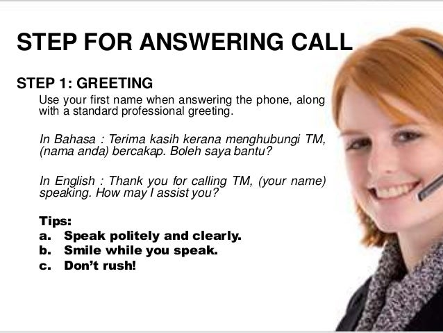 Answer call effectively 4 m4hsunfo