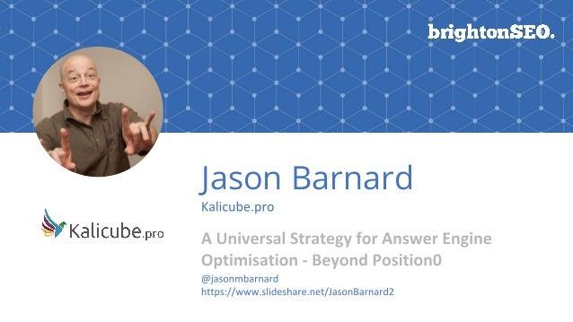 Jason Barnard