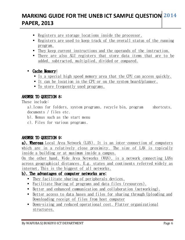 answer guide to uneb sample question paper 2013 print by wafuba sj bu