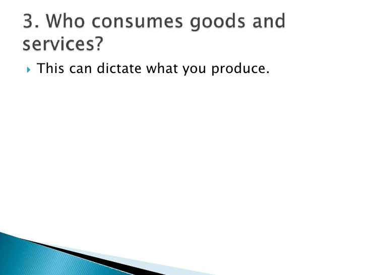 the three main economic questions The four basic economic questions are: what goods to produce, how to use resources in the production process, who receives the finished goods and when to produce the goods.