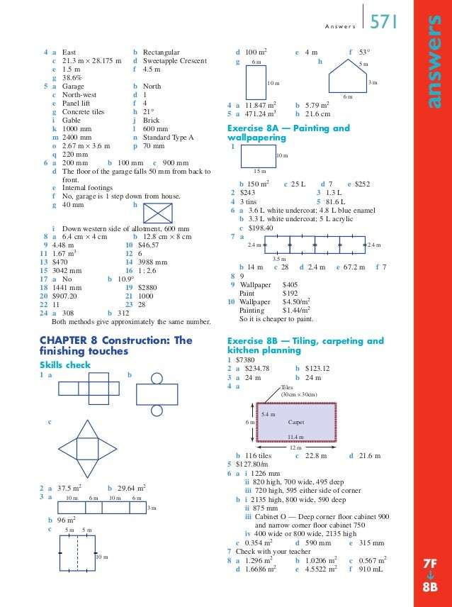 Maths A Textbook - Answers