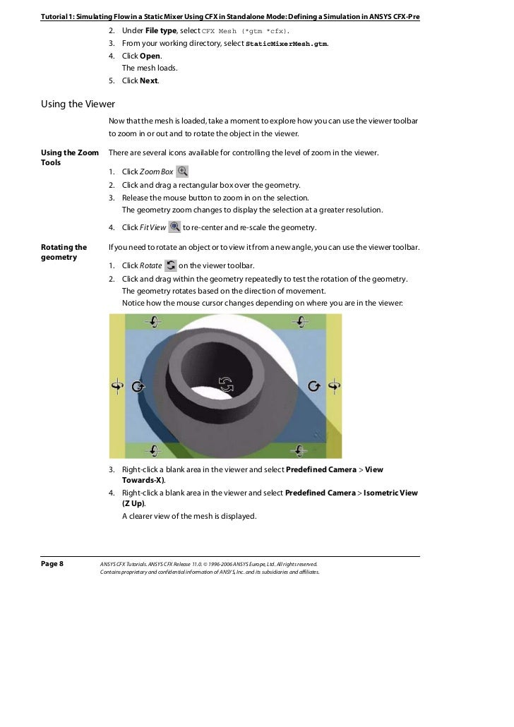 Ansys 11 tutorial