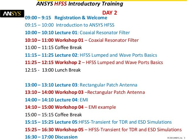 Hfss Training