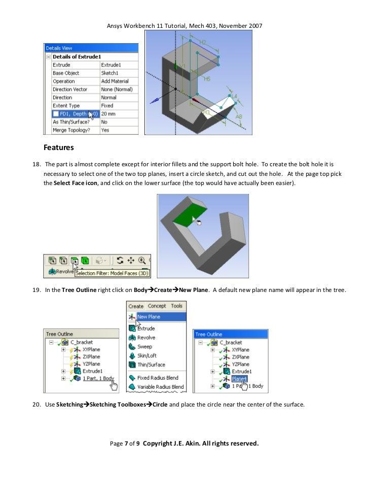 ansys 16 workbench tutorial pdf