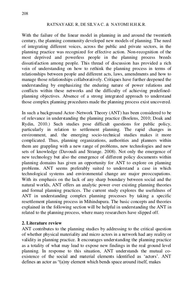 understanding the relationships between science and technology with actor network theory ant For assemblage theory,  bruno latour's action network theory (ant)  developed by science and technology studies scholars michel callon and bruno latour,.