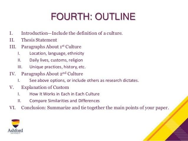 Ernest hemingway research paper outline