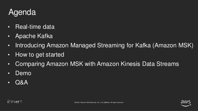 NEW LAUNCH!] Introducing Amazon Managed Streaming for Kafka (Amazon …