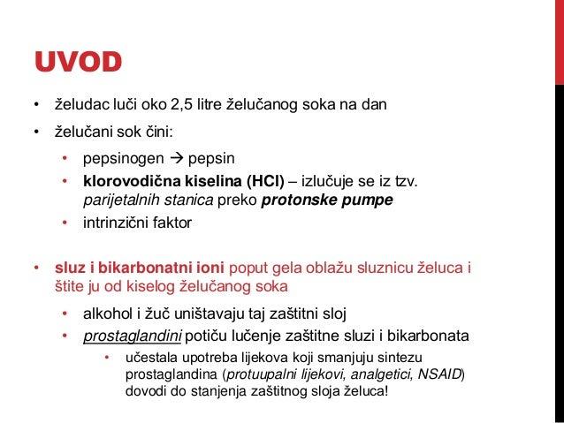 Antacidi i antisekretorni lijekovi Slide 2
