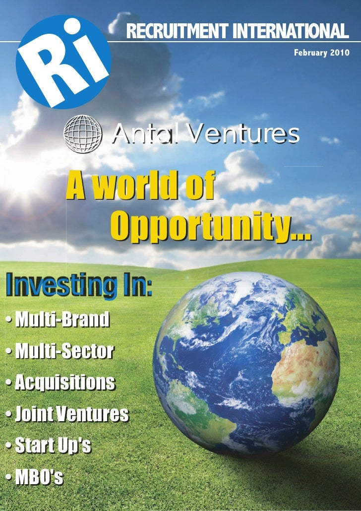R i         RECRUITMENT INTERNATIONAL                                    February 2010                     Antal Ventures ...