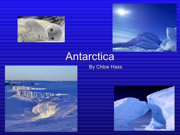 Antarctica By Chloe Hass