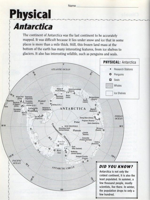 Antarctica HW