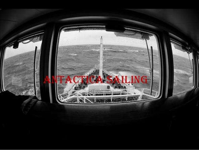 antactica sailing