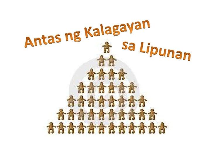 AntasngKalagayan<br />saLipunan<br />