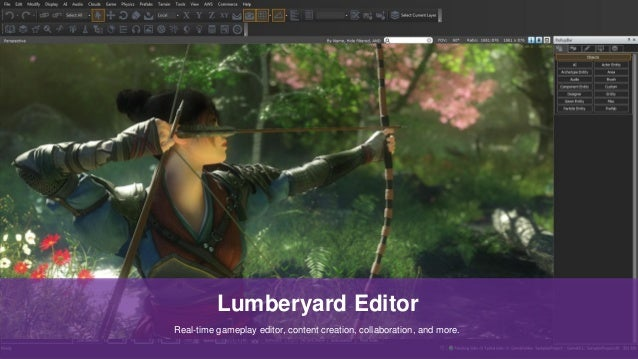 6c861544926e8 AWS re:Invent 2016| GAM303 | Develop Games Using Lumberyard and Lever…