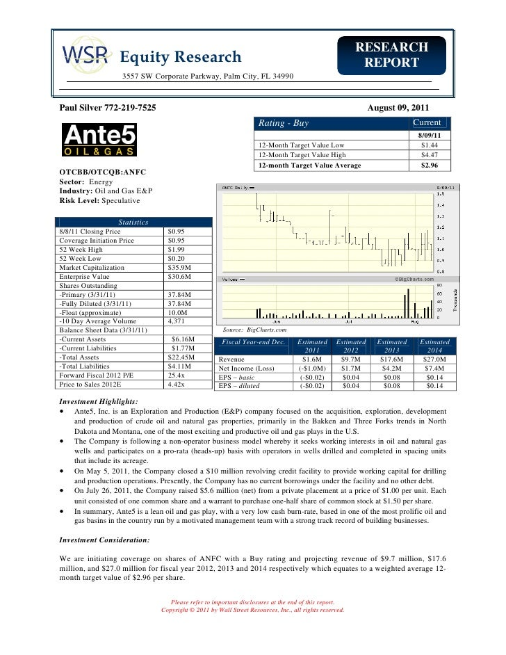 RESEARCH                   Equity Research                                                                      REPORT    ...